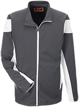Lamont Christian School Team 365 Performance Colorblock Full Zip