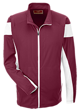 Horizon High School Hawks Team 365 Performance Colorblock Full Zip