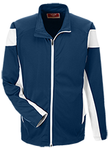 Glacier Point Middle School Huskies Team 365 Performance Colorblock Full Zip