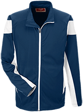 Lansing Eastern High School Quakers Team 365 Performance Colorblock Full Zip