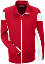 Bellefontaine Middle School Chieftain Team 365 Performance Colorblock Full Zip