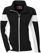 Laramie Christian School Stallions Team 365 Ladies Performance Colorblock Full Zip