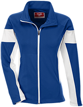 Butner Elementary School Bears Team 365 Ladies Performance Colorblock Full Zip