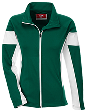 York County School Of Technology Spartans Team 365 Ladies Performance Colorblock Full Zip