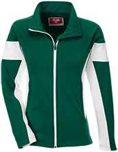 Walker Butte K-8 School Coyotes Team 365 Ladies Performance Colorblock Full Zip