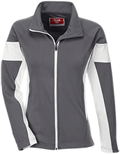 Lawrence West School Team 365 Ladies Performance Colorblock Full Zip