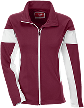 Spirit Life Christian Academy Warriors Team 365 Ladies Performance Colorblock Full Zip