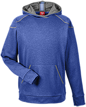 Elkin Middle School School Mens Heather Performance Hoodie