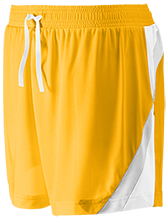 Hillsdale High School Falcons Team 365 Ladies All Sport Short