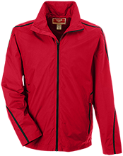 Sublette High School Larks Team 365 Men's Mesh Lined Jacket