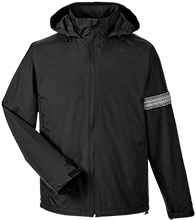 Barber Shop Team 365 Men's Fleece Lined Windbreaker