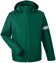 Clearwater-Orchard Cyclones Team 365 Men's Fleece Lined Windbreaker