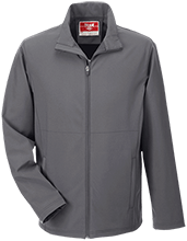 Clark Elementary School Coyotes Team 365 Men's Soft Shell Jacket