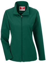 Janesville Parker High  School Vikings Team 365 Ladies Soft Shell Jacket