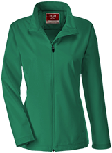 Harrison Elementary School Hawks Team 365 Ladies Soft Shell Jacket