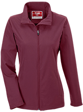 High Island High School Cardinals Team 365 Ladies Soft Shell Jacket