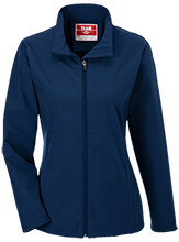 Montpelier Schools Locomotives Team 365 Ladies Soft Shell Jacket
