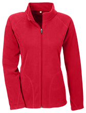 Clemmons Middle School Cardinals Team 365 Ladies Microfleece
