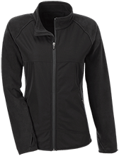 Team 365 Ladies Microfleece with Front Polyester Overlay