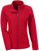 Edmonson Middle School  School Team 365 Ladies Microfleece with Front Polyester Overlay