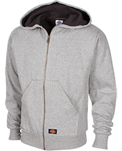 Football Embroidered Thermal Fleece Hoodie