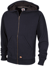 Lansing Eastern High School Quakers Embroidered Thermal Fleece Hoodie