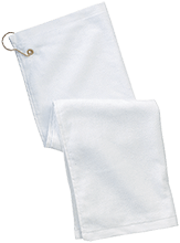 C C Jacobson Middle School C Hawks Customized Grommeted Golf Towel