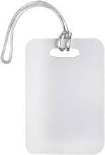 Unisub Gloss White Bag Tag