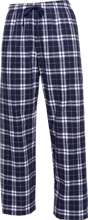 Erle Stanley Gardner Middle School Grizzlies Youth Custom Embroidered Flannel Pants