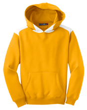 Tilden Hogge Elementary School Mustangs Youth Colorblock Hooded Pulovers