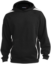 Jane Addams Middle School Jay Hawks Youth Sleeve Stripe Hooded Pullover