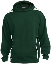 St. Francis Indians Football Youth Sleeve Stripe Hooded Pullover