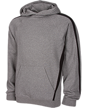 Whitney High School-Rocklin Wildcats Youth Sleeve Stripe Hooded Pullover