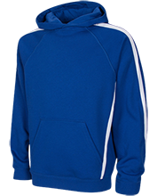 Hershey Middle School Trojans Youth Sleeve Stripe Hooded Pullover