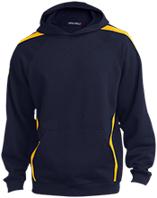 Maranatha Baptist Bible College Crusaders Youth Sleeve Stripe Hooded Pullover