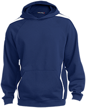 Saint Mary's School Royals Youth Sleeve Stripe Hooded Pullover