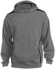Alternative Education Center School Youth Sleeve Stripe Hooded Pullover
