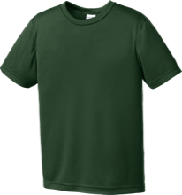 Oakwood School-Morgan Hill Hawks Youth Moisture-Wicking Shirt