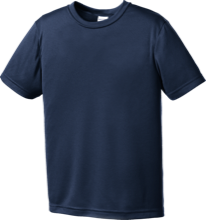 Skyline High School Eagles Youth Moisture-Wicking Shirt