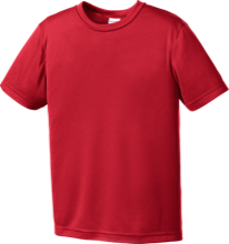 Saint Isidore Elementary School Cardinals Youth Moisture-Wicking Shirt