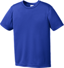 Wayne Elementary School Blue Devils Youth Moisture-Wicking Shirt