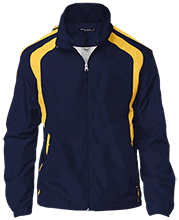 Lansing Eastern High School Quakers Youth Colorblock Jacket