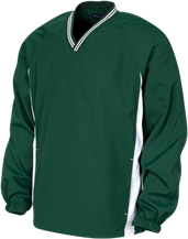 Adams City High School Eagles Youth Tipped V-Neck Wind Shirt