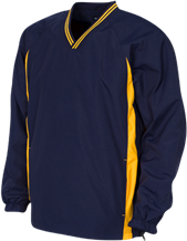 Charlestowne Academy Cobras Youth Tipped V-Neck Wind Shirt