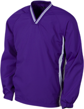 Columbia River High School Chieftains Youth Tipped V-Neck Wind Shirt