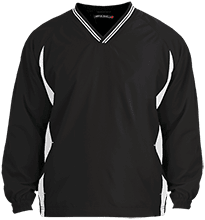 Manchester East Soccer Youth Tipped V-Neck Wind Shirt