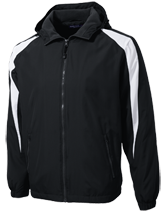 Goose Creek High School Gators Youth Colorblock Fleece-Lined Jacket