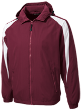 Eaton Rapids High School Greyhounds Youth Colorblock Fleece-Lined Jacket