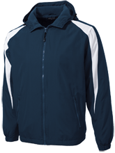 Trail Ridge Middle School Mustangs Youth Colorblock Fleece-Lined Jacket