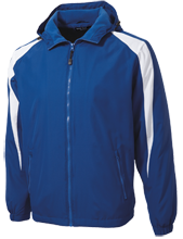 Ringling Elementary School Blue Devils Youth Colorblock Fleece-Lined Jacket